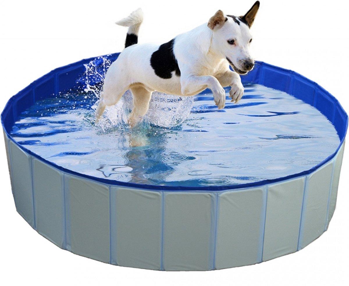 Hondenzwembad Blauw Ø80x30cm kopen