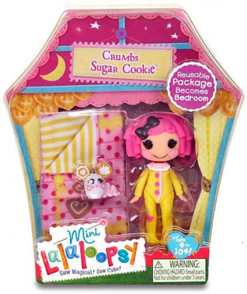 Mini Lalaloopsy Doll Crumbs Sugar Cookie