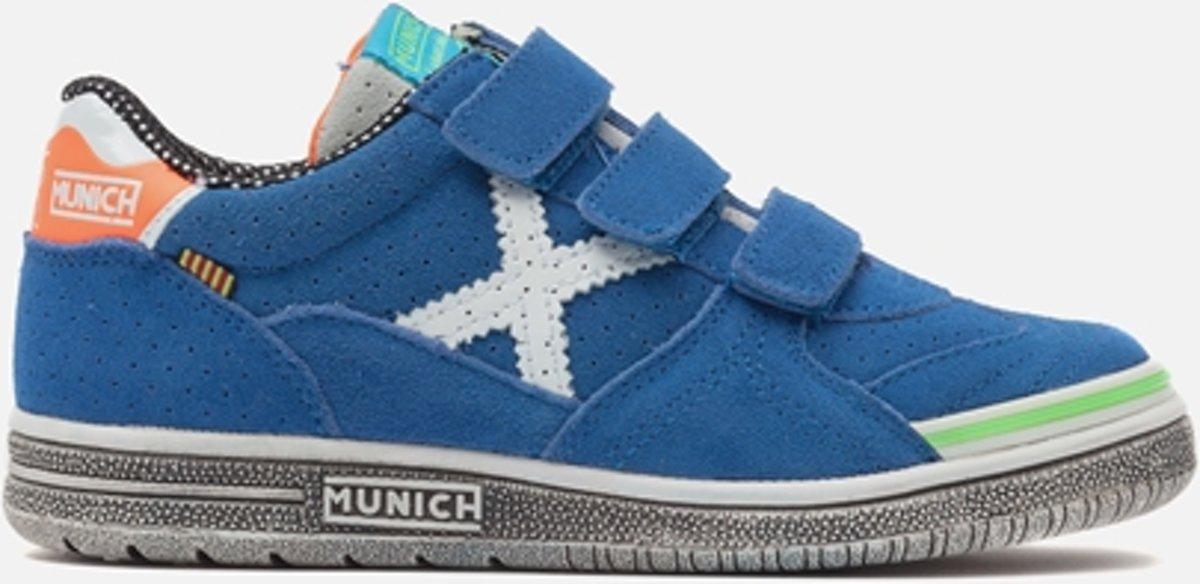 Munich G-3 Baskets Vco Enfant Junior Baskets - Taille 27 - Unisexe - Bleu / Blanc SIsxQheH