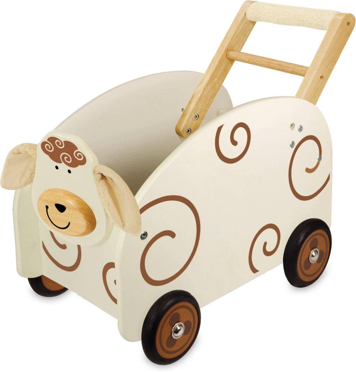 I'm Toy Loop/duwwagen Speelkist Schaap