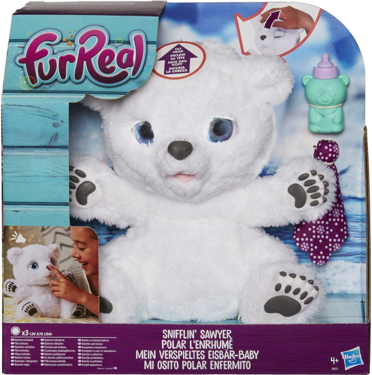 FurReal Friends IJsbeer - Interactieve knuffel