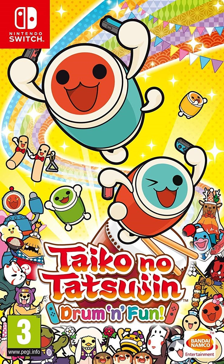 Taiko no Tatsujin: Drum 'n' Fun! Switch
