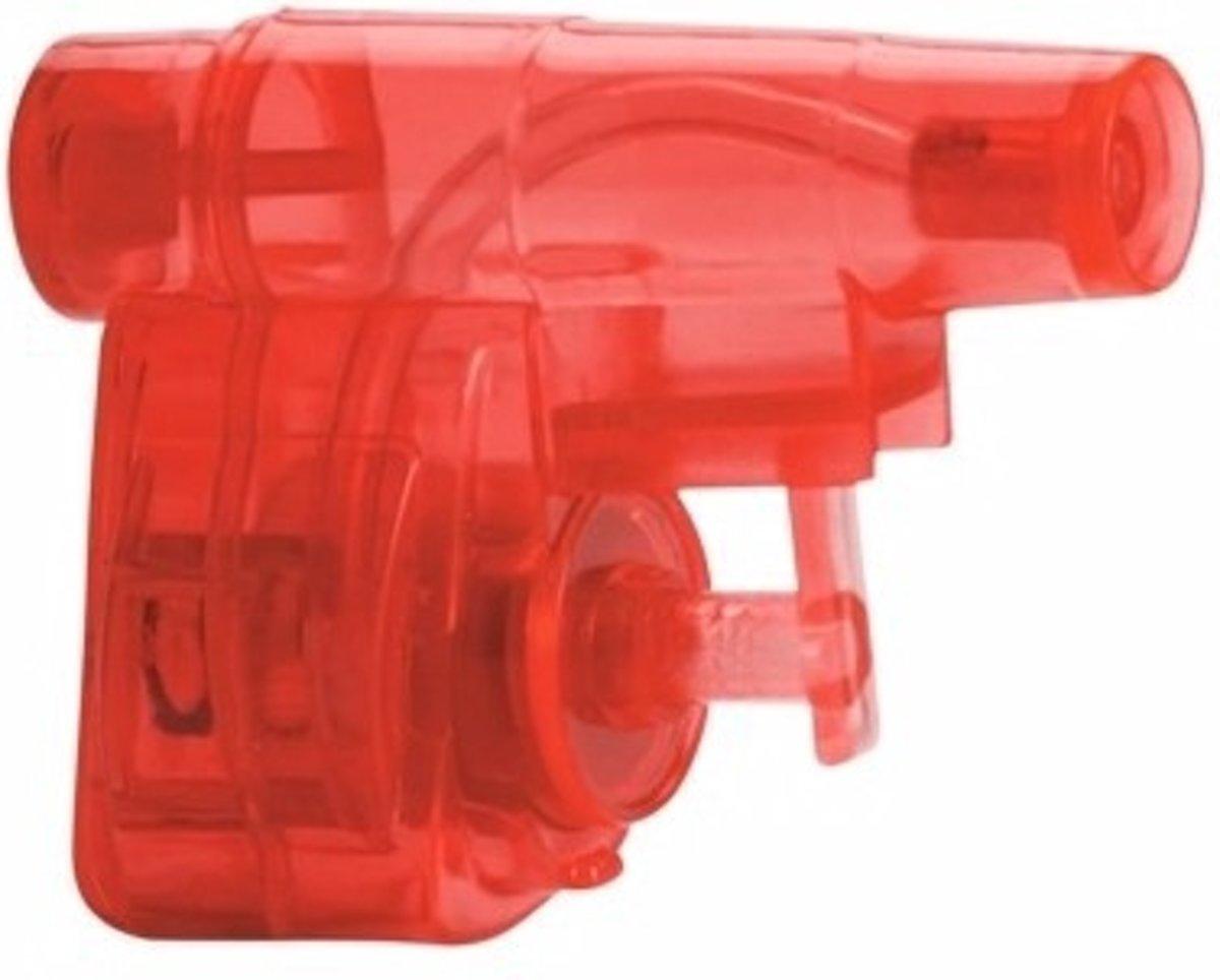 Mini rood waterpistool 5 cm