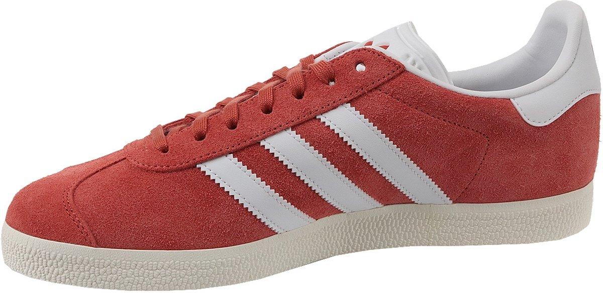Adidas Gazelle Bz0024, Les Hommes, Blancs, Chaussures De Sport Taille 42 2/3 Ue