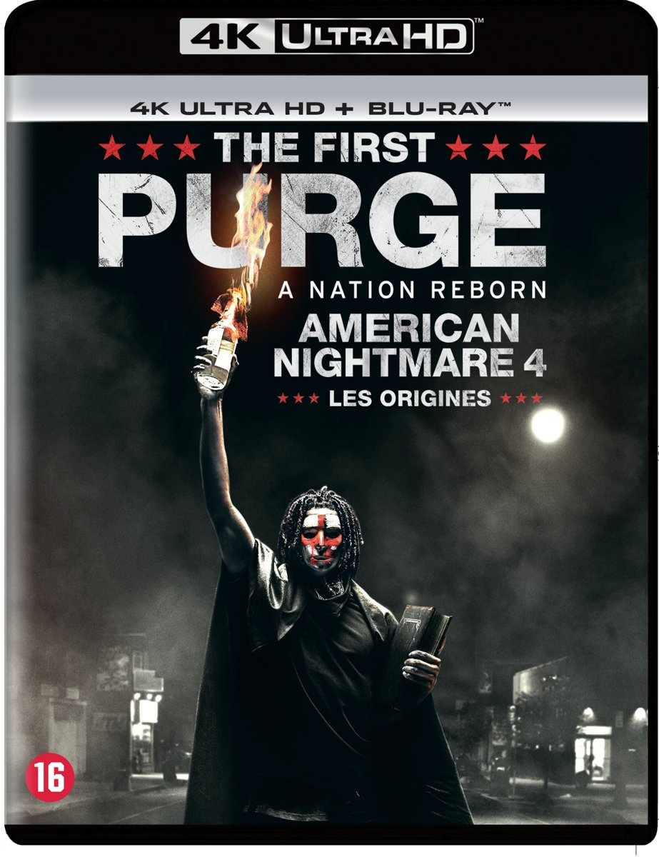 The Purge 4: The First Purge (4K Ultra Hd Blu-ray)-