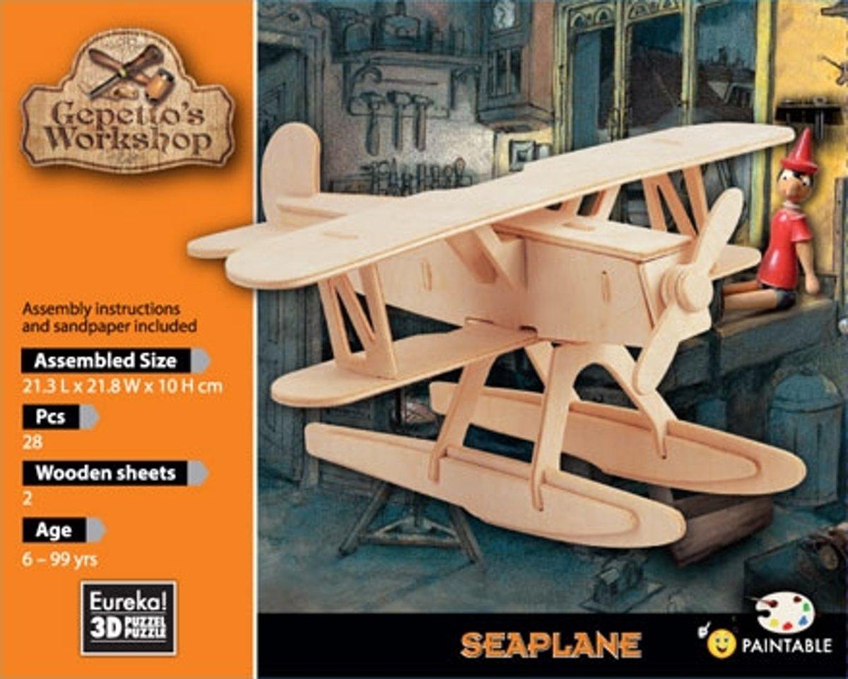 Eureka 3D Puzzel Gepetto's Zeevliegtuig - Multiplex