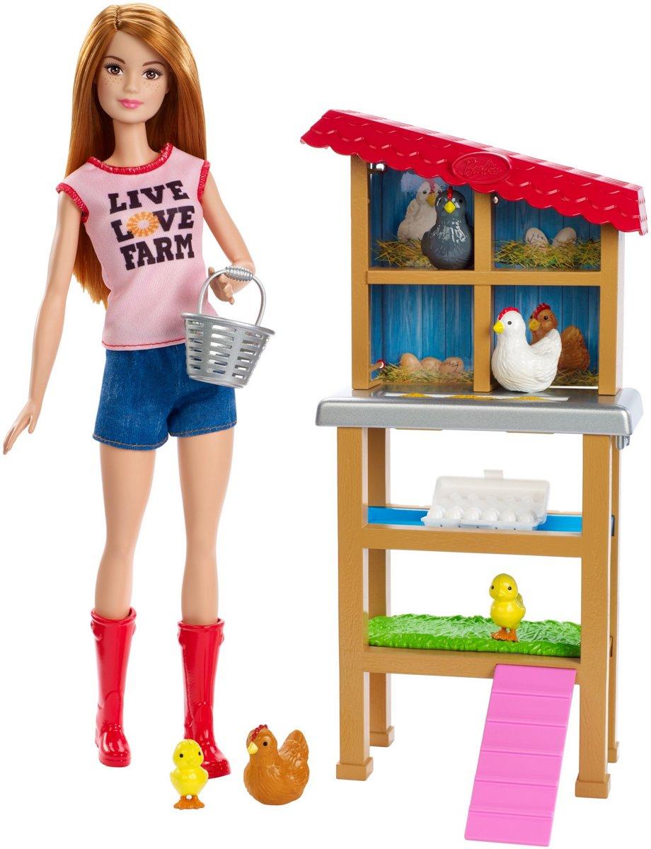 Barbie Careers Kippenboerin - Barbiepop