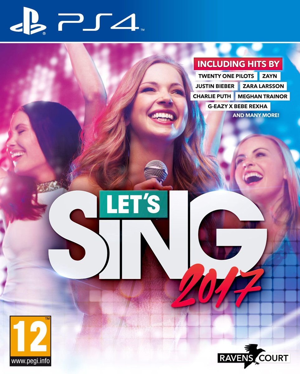Let's Sing 2017 PlayStation 4