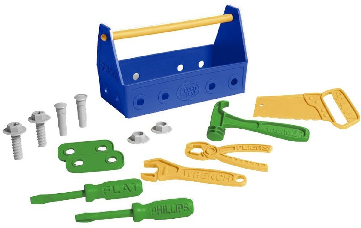 Green Toys Tool Set (Blue)