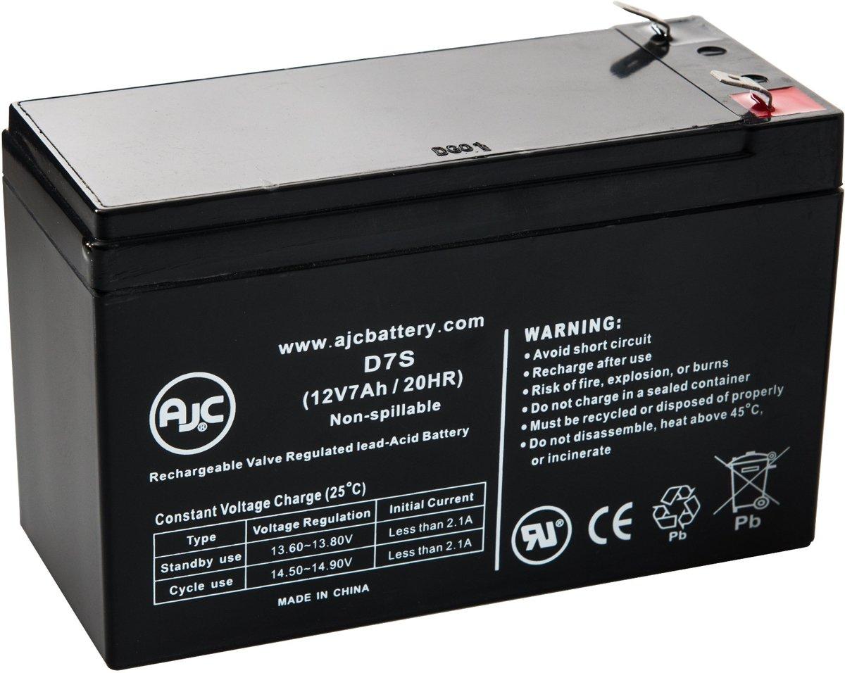 AJC� battery compatibel met Bruno Electra-Ride Elite Stairlift Outdoor 12V 7Ah Rolstoel accu