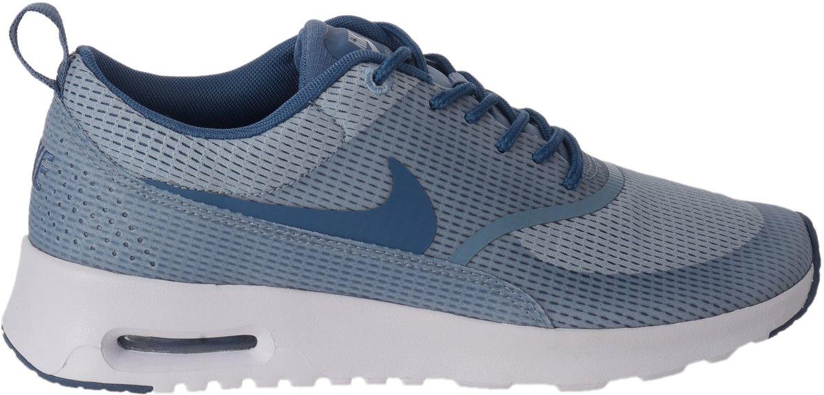 ba3cc6b5844 bol.com | Nike Air Max Thea Sneakers Dames Sportschoenen - Maat 37.5 -  Vrouwen - grijs/blauw