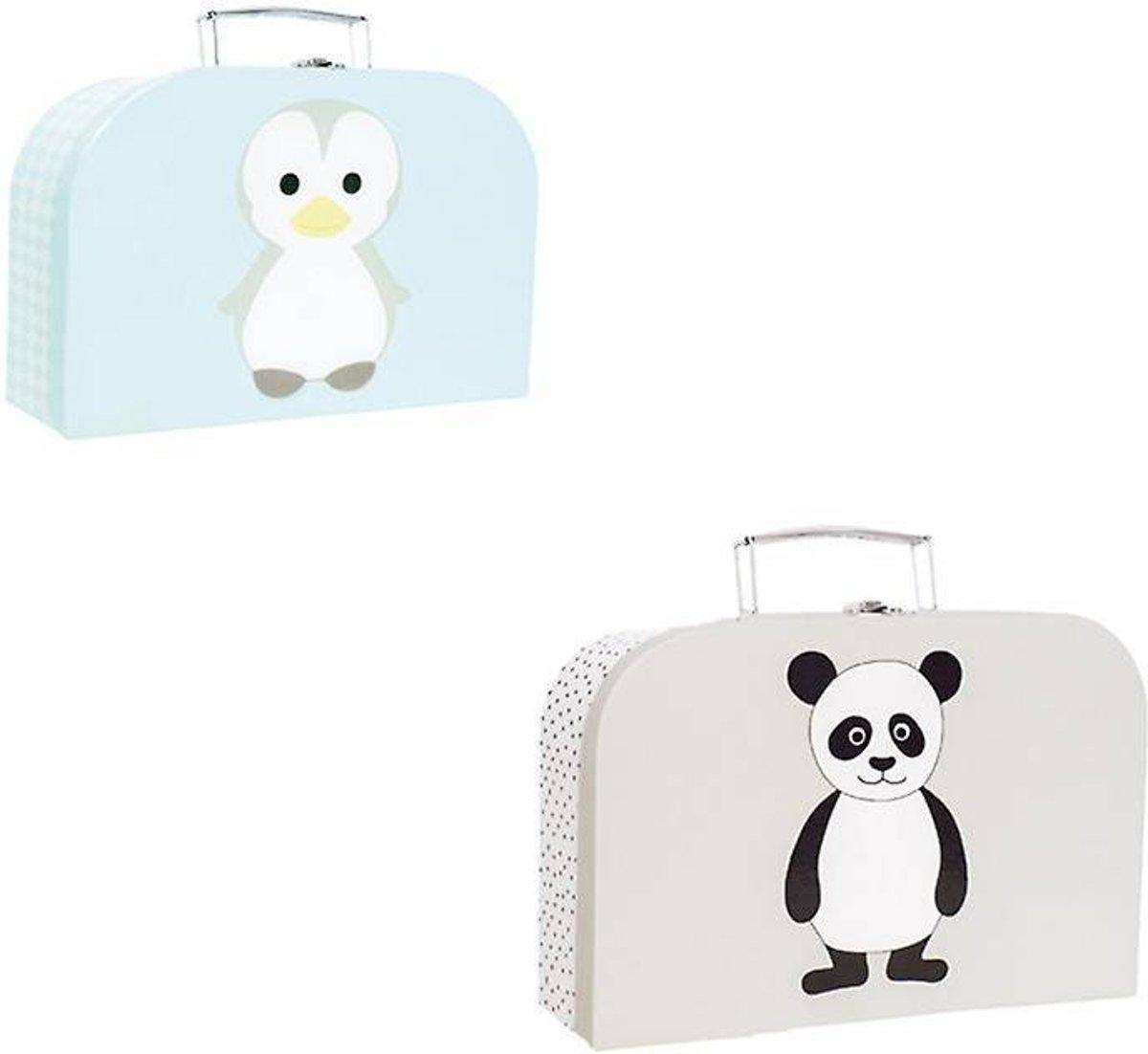 JaBaDaBaDo - Kofferset - Pinguin/panda kopen