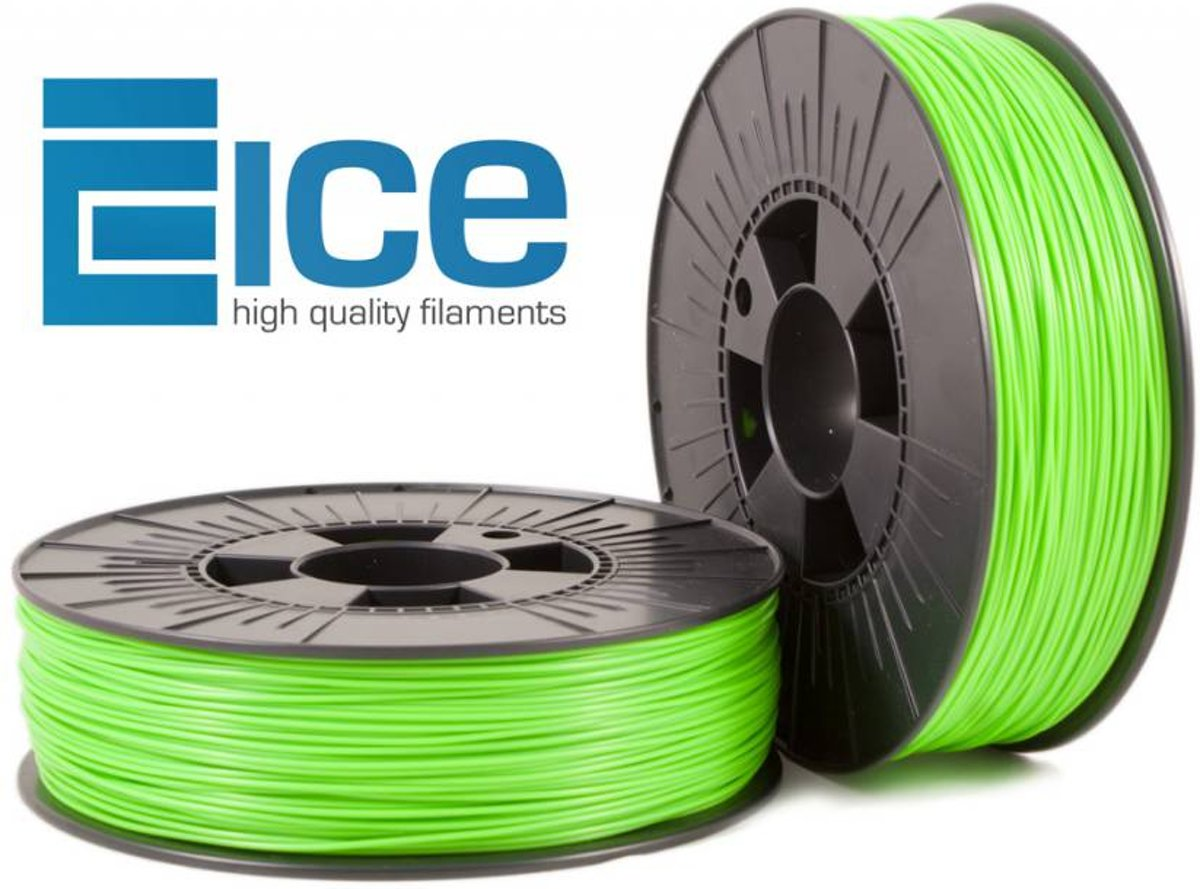 ICE Filaments ABS 'Fluo Gnarly Green'