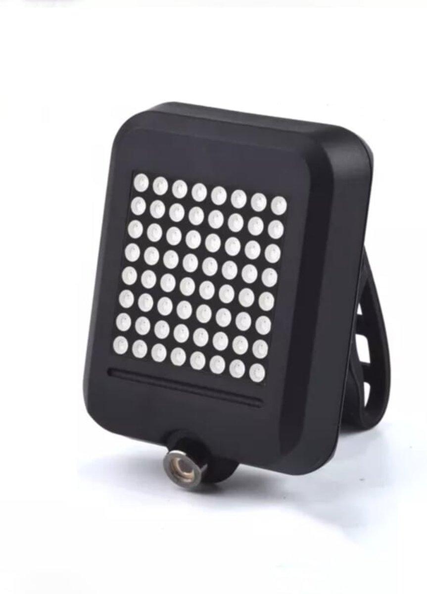 Richtingaanwijzer Fiets | LED Fietsverlichting | Veiligheid | Achterlicht | Fietslamp | Draadloos | USB-Oplaadbaar | Home Scentiments | Waterbestendig