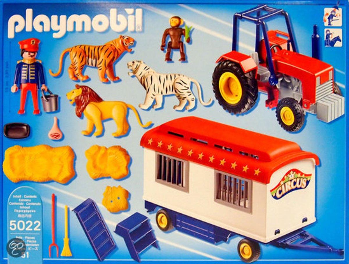 Ongekend bol.com | Playmobil Circustractor Met Dieren - 5022, PLAYMOBIL FW-02