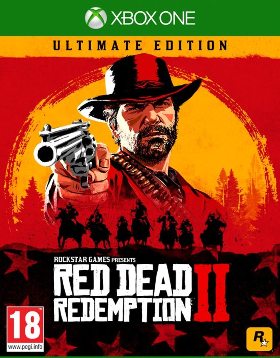Red dead redemption 2 Ultimate xbox one Xbox One