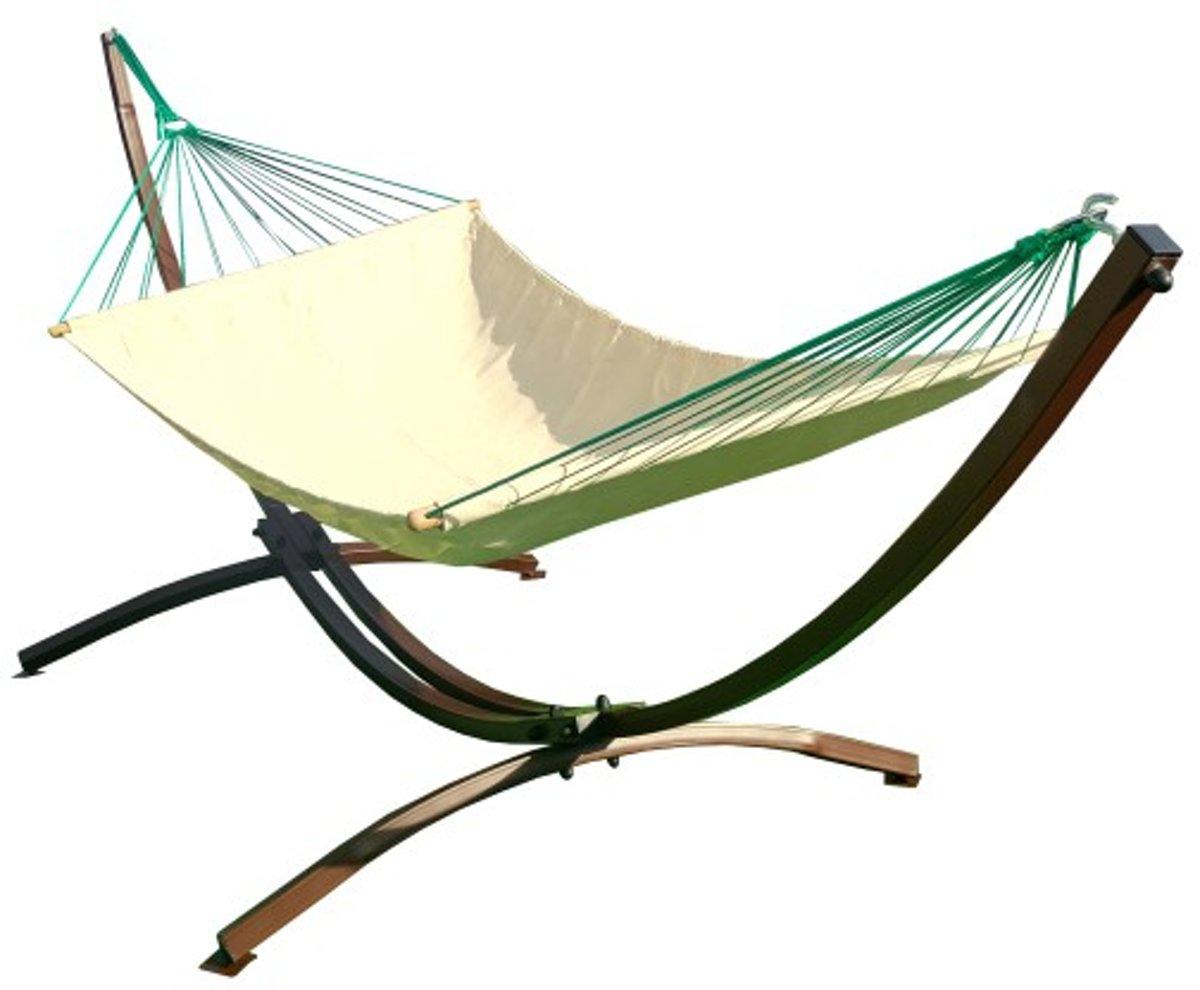 Motyl- Tweepersoons Hangmatset / 2-persoons Hangmat met standaard