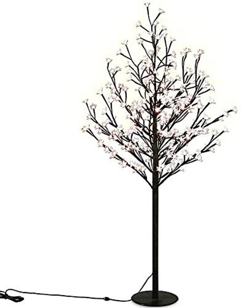 bolcom kerstboom bloesem met 220leds 220 cm hoog voor binnen of buiten