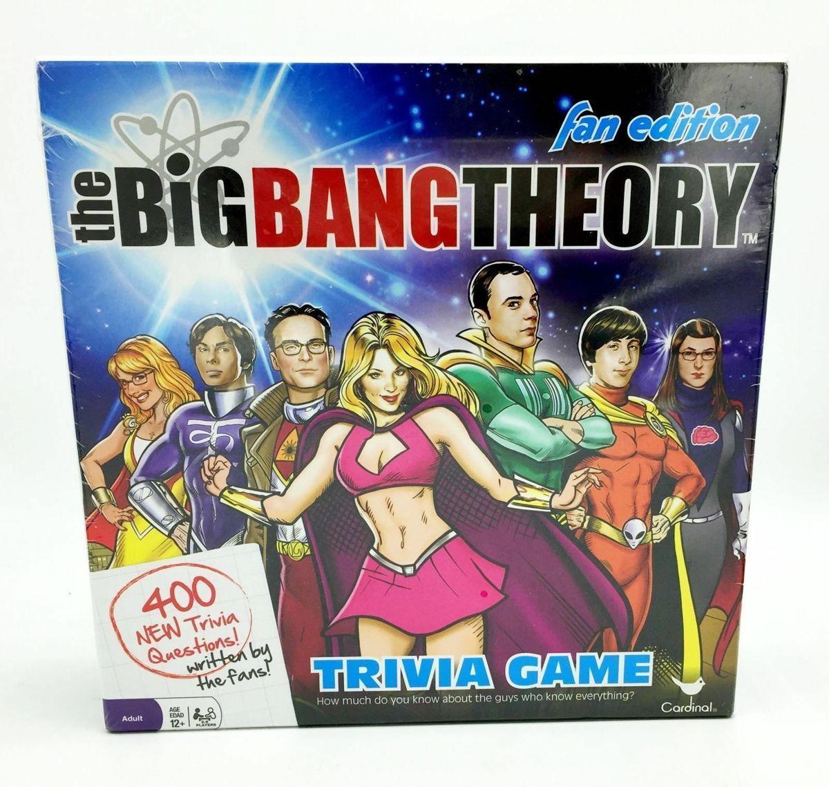 The big bang theory trivia board game (engels)