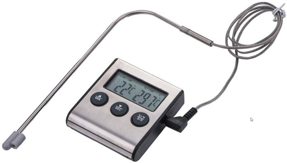 Digitale keuken thermometer / braadmeter keuken kopen