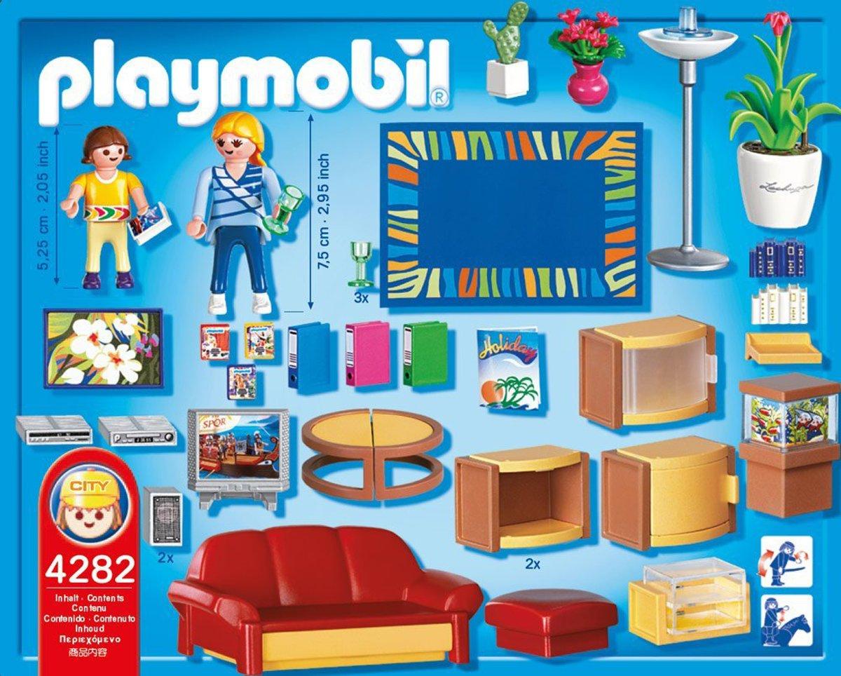 bol.com | Playmobil Grote Woonkamer - 4282, PLAYMOBIL | Speelgoed
