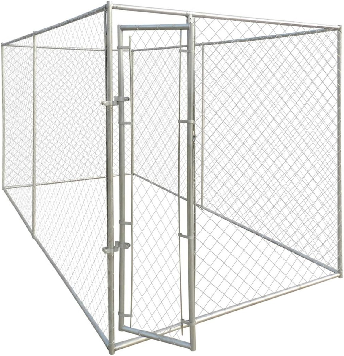 vidaXL Hondenkennel voor buiten 4x2 m kopen