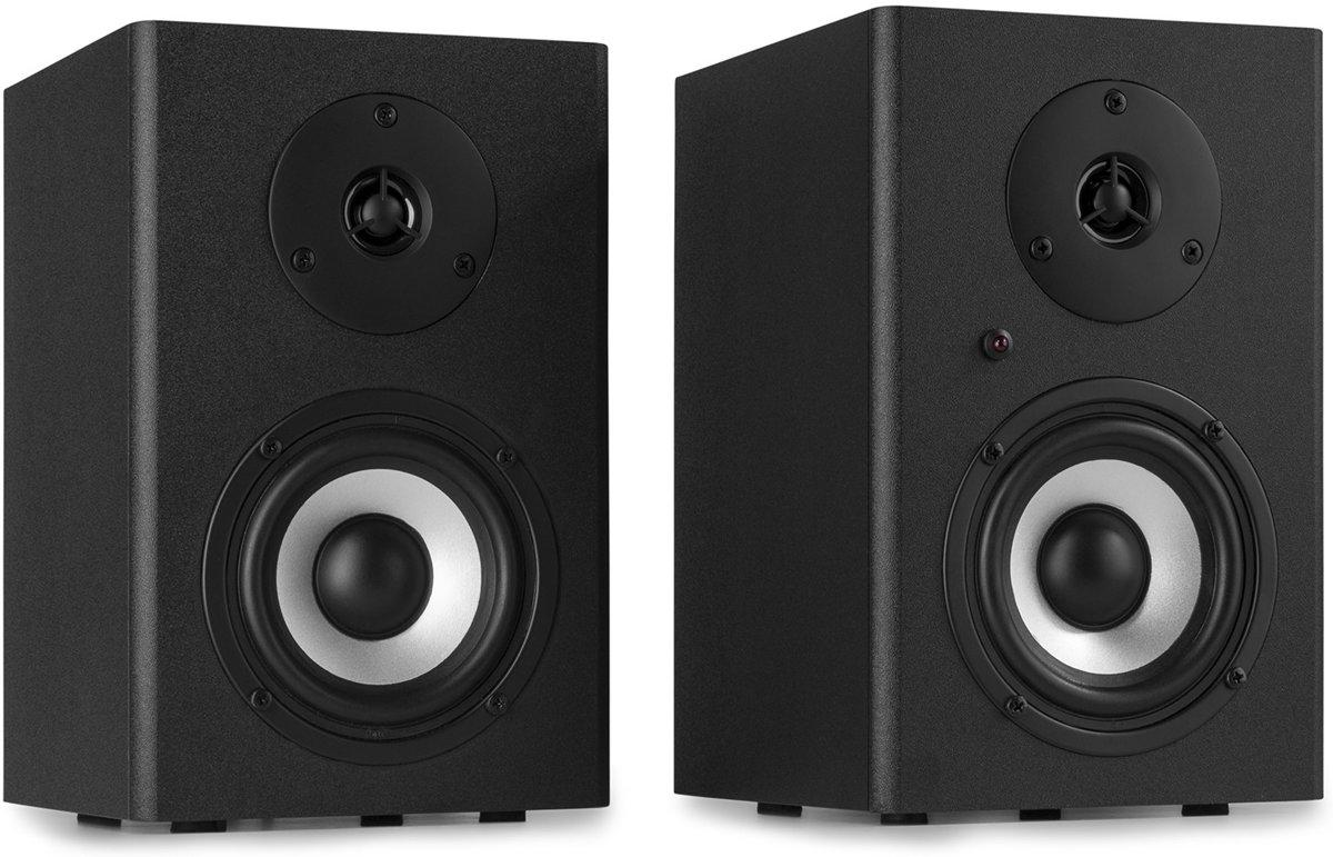 "Studio monitor - Vonyx SM40 Actieve 2-weg studio monitor speakerset 4"" - 100W kopen"