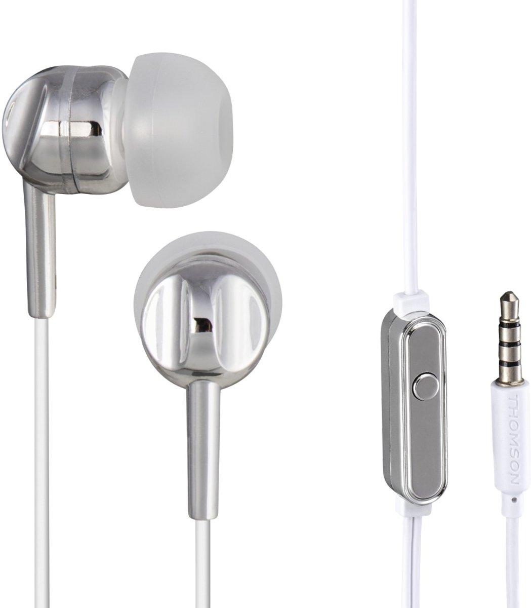 Thomson hoodftelefoon in-ear EAR3025 zilver kopen