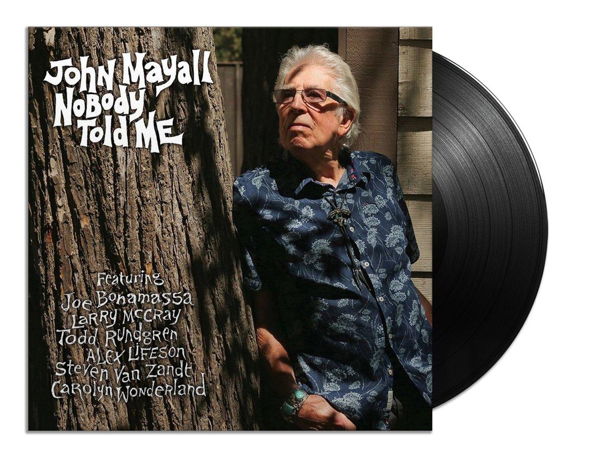 John Mayall - NOBODY TOLD ME   Vinyl kopen