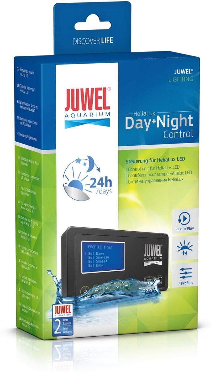 juwel aquarium verlichting helialux controller blauw wwit