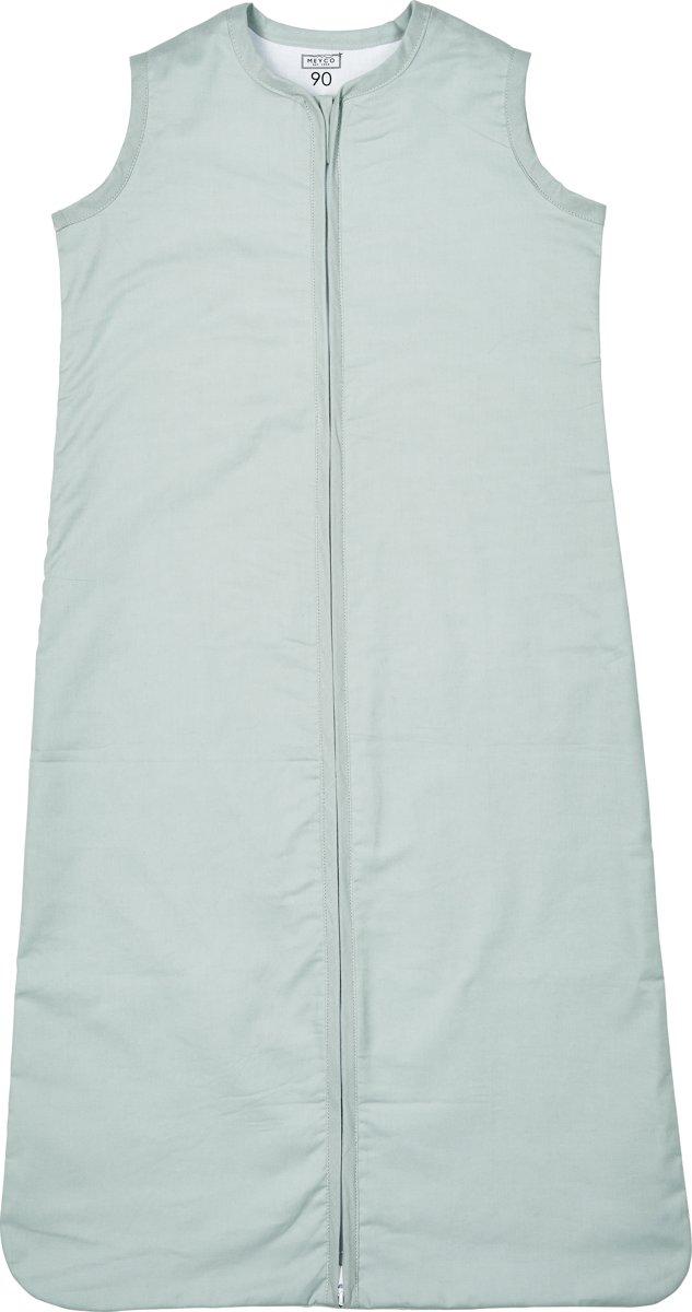 Meyco zomerslaapzak - uni stone green - 90 cm