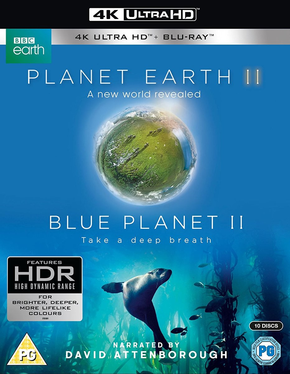 Planet Earth 2 & Blue Planet 2 Collectie 4K UHD (Import)-