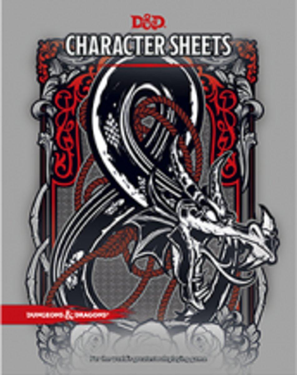 D&D Character Sheets 2017