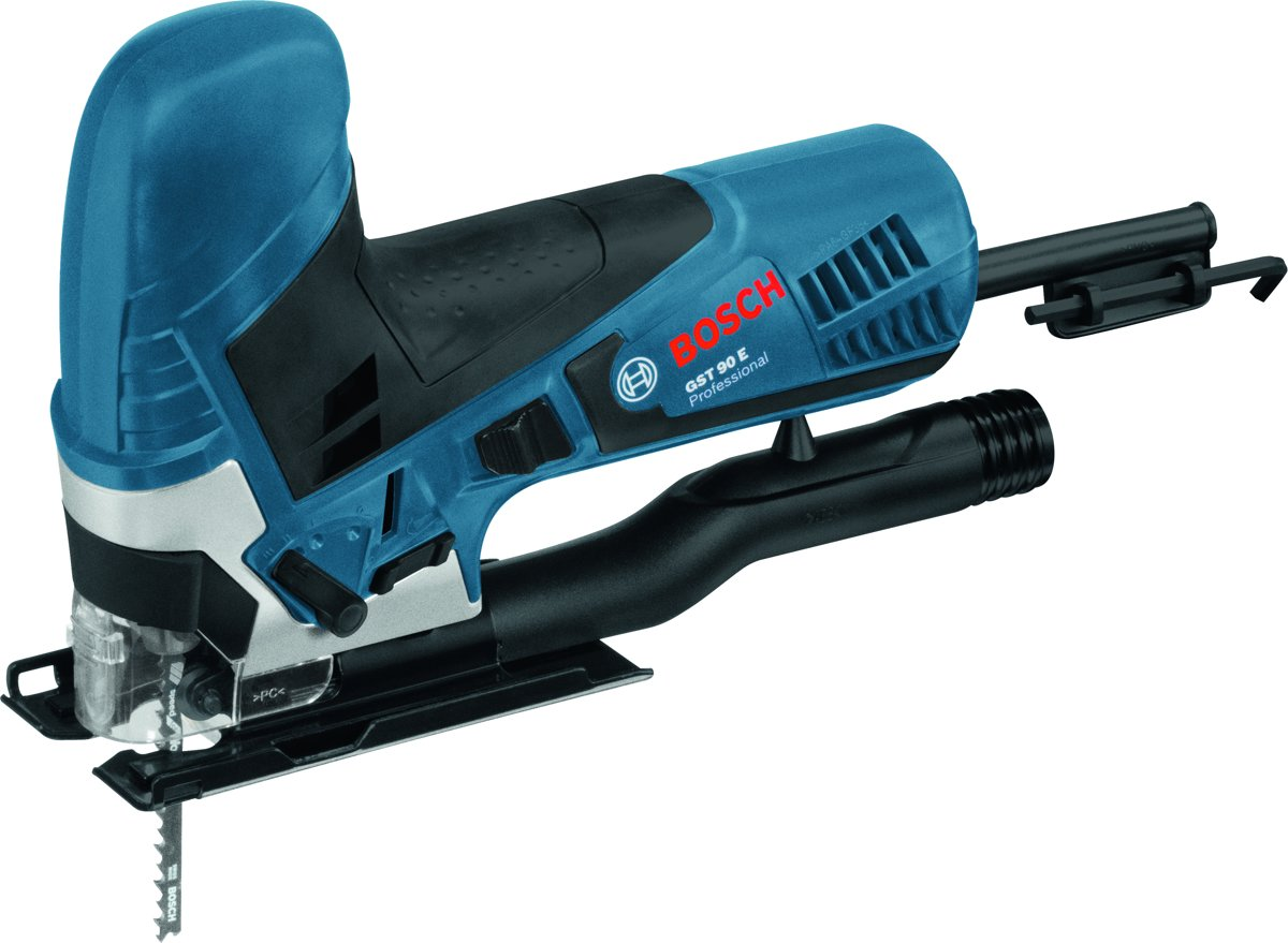 Bosch Professional GST 90 E Decoupeerzaagmachine + 25 x zaagbladen Speed for Wood