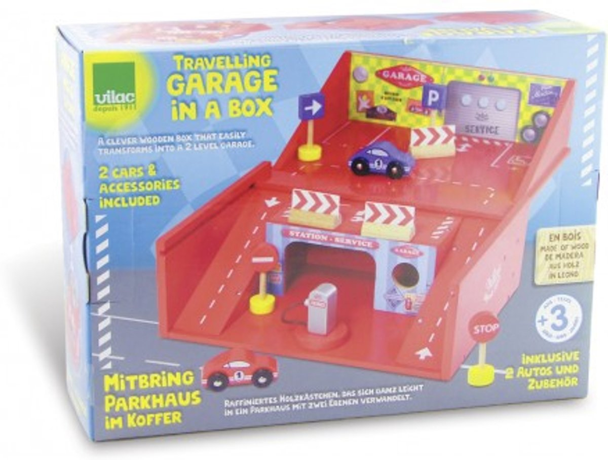 Houten Garage Speelgoed : Bol houten speelgoed garage met auto s en accessoires