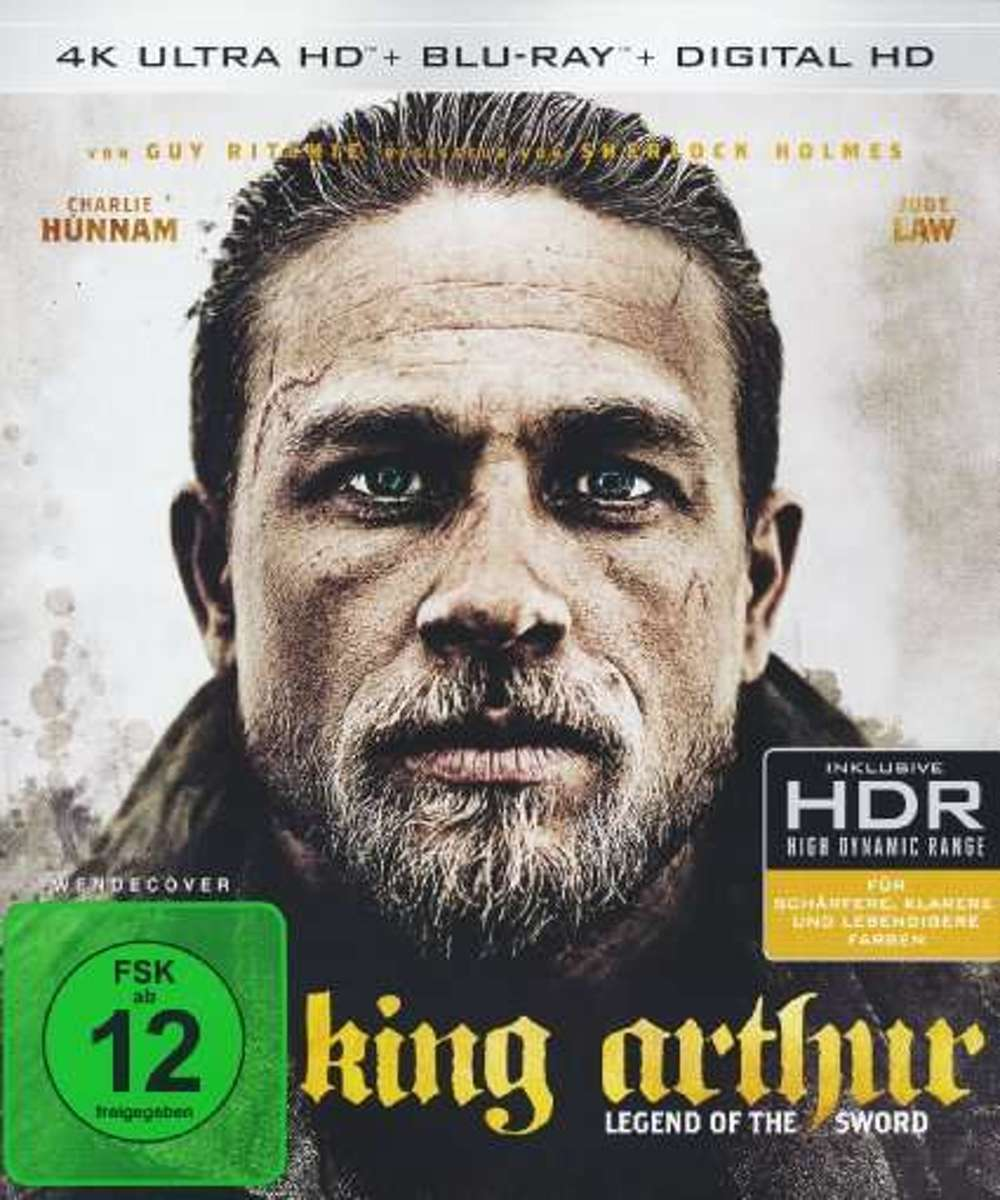 King Arthur: Legend of the Sword (4K Ultra HD Blu-ray) (Import)-