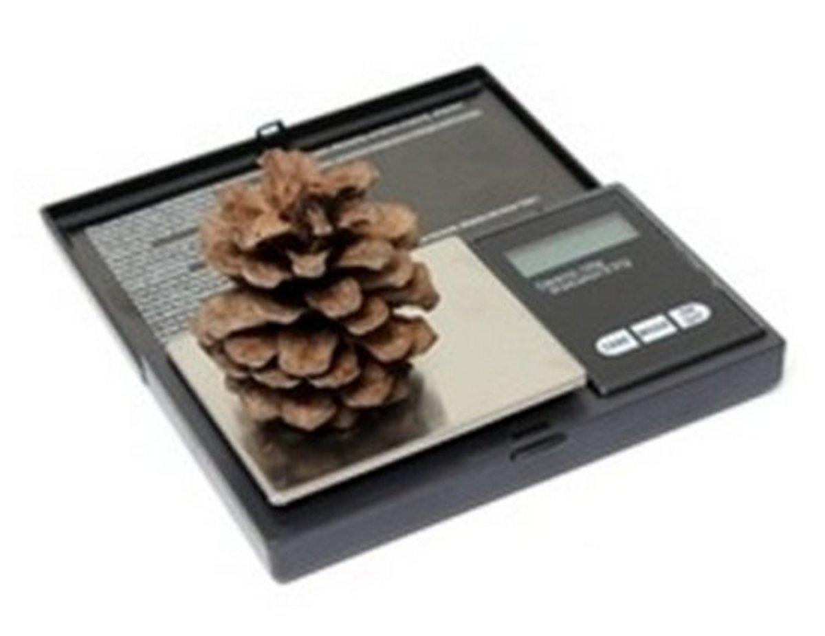 Precisie weegschaal op 0.01 gram nauwkeuring
