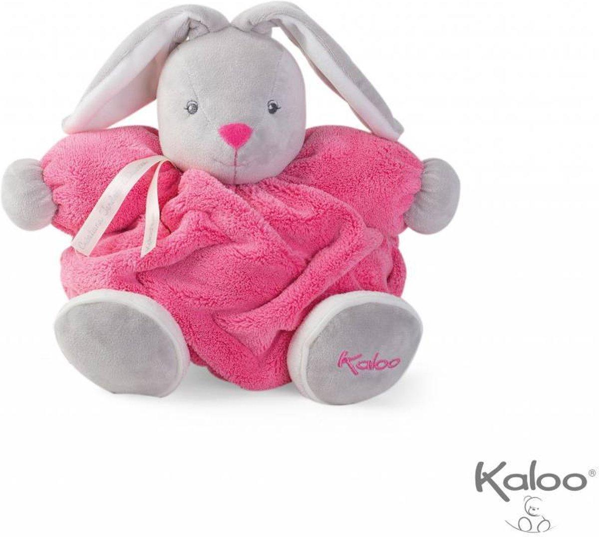 Kaloo Plume - Knuffelkonijn framboos