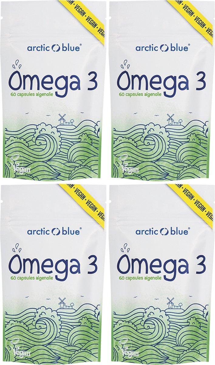 Foto van ARCTIC BLUE - OMEGA 3 - ALGENOLIE - 240 CAPSULES