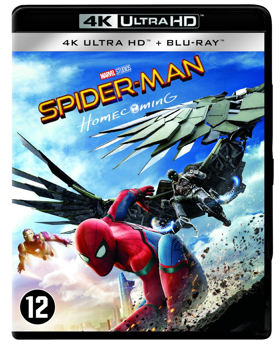Spider-Man: Homecoming (4K Ultra HD Blu-ray)-
