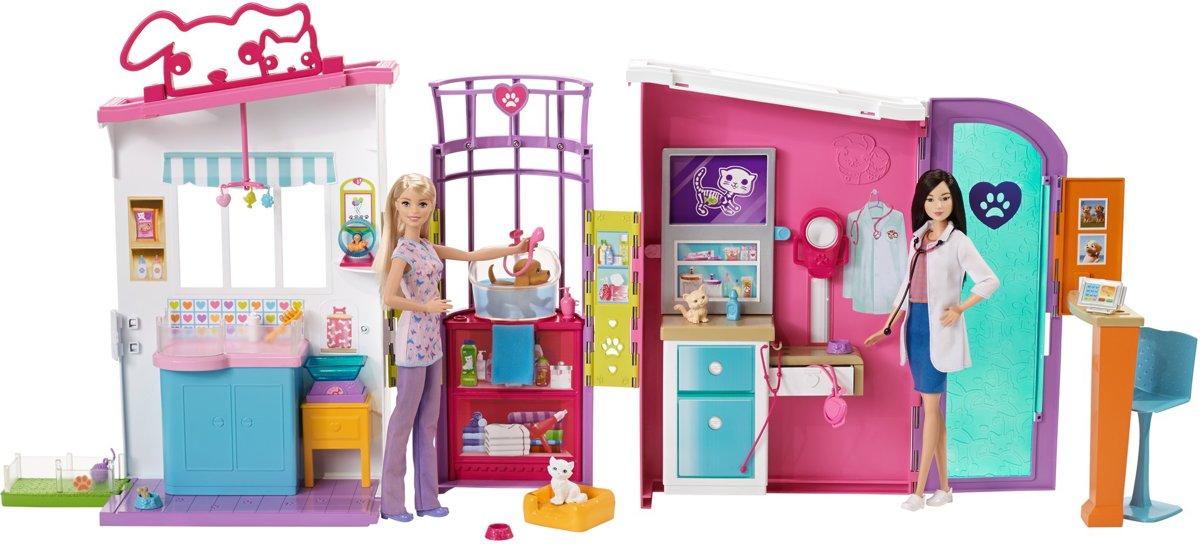 Barbie Dierenkliniek Speelset