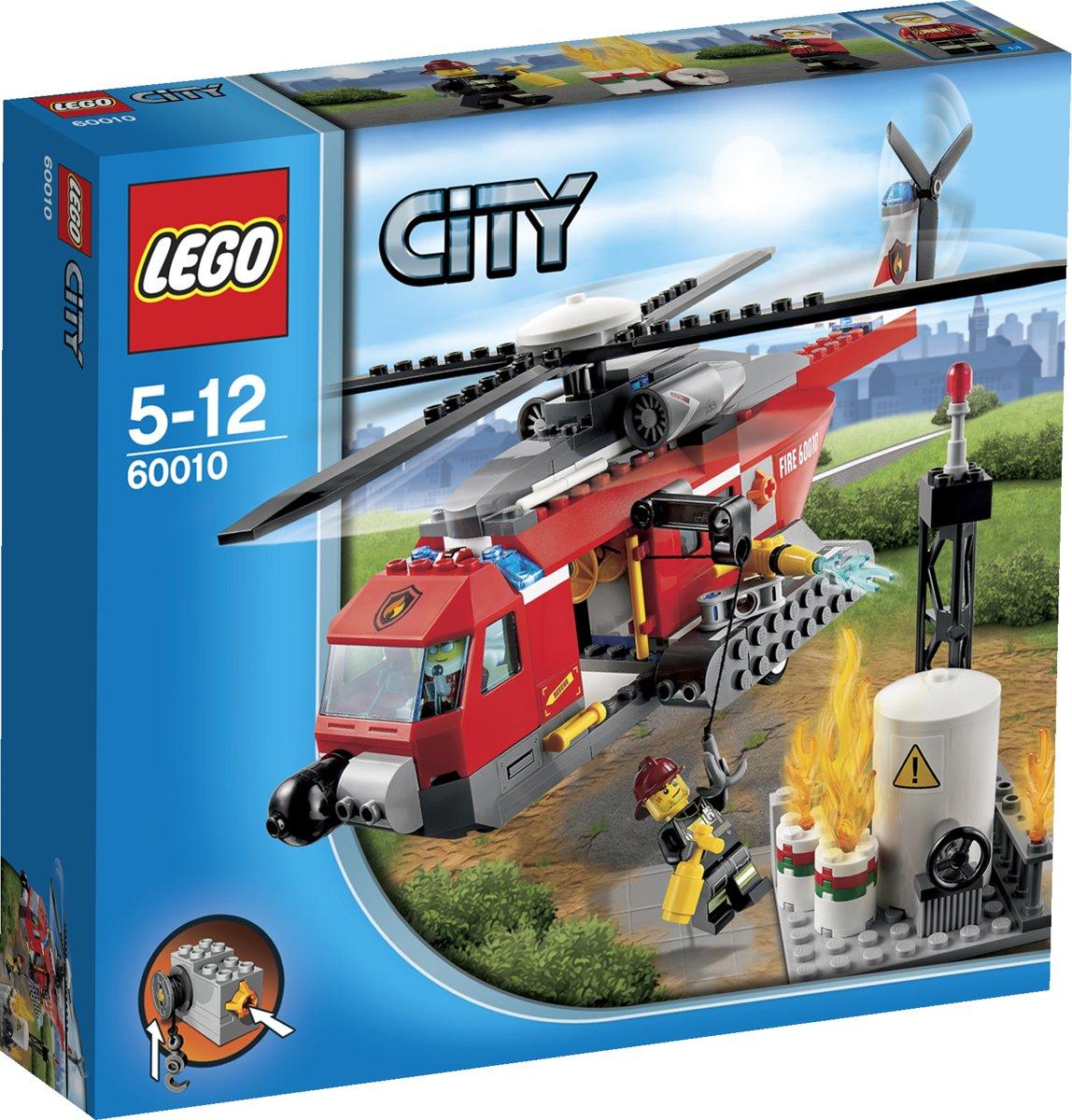 LEGO City Brandweerhelikopter - 60010