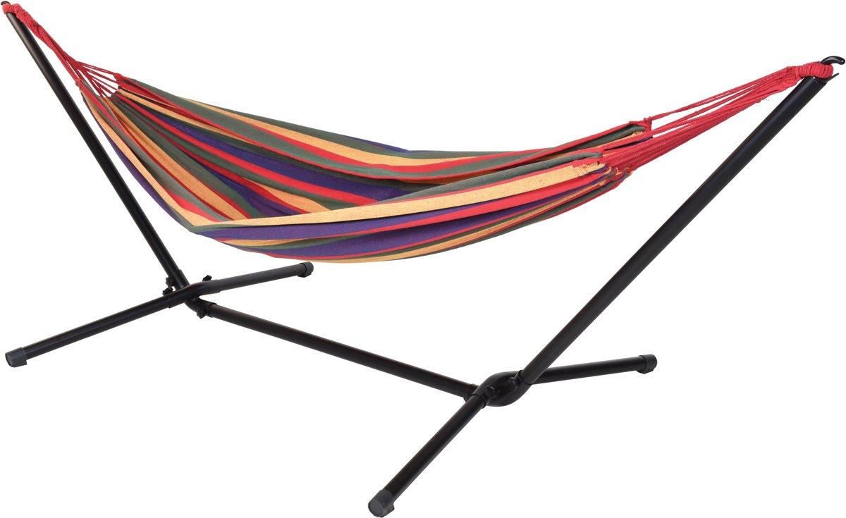 Hangmat met metalen standaard