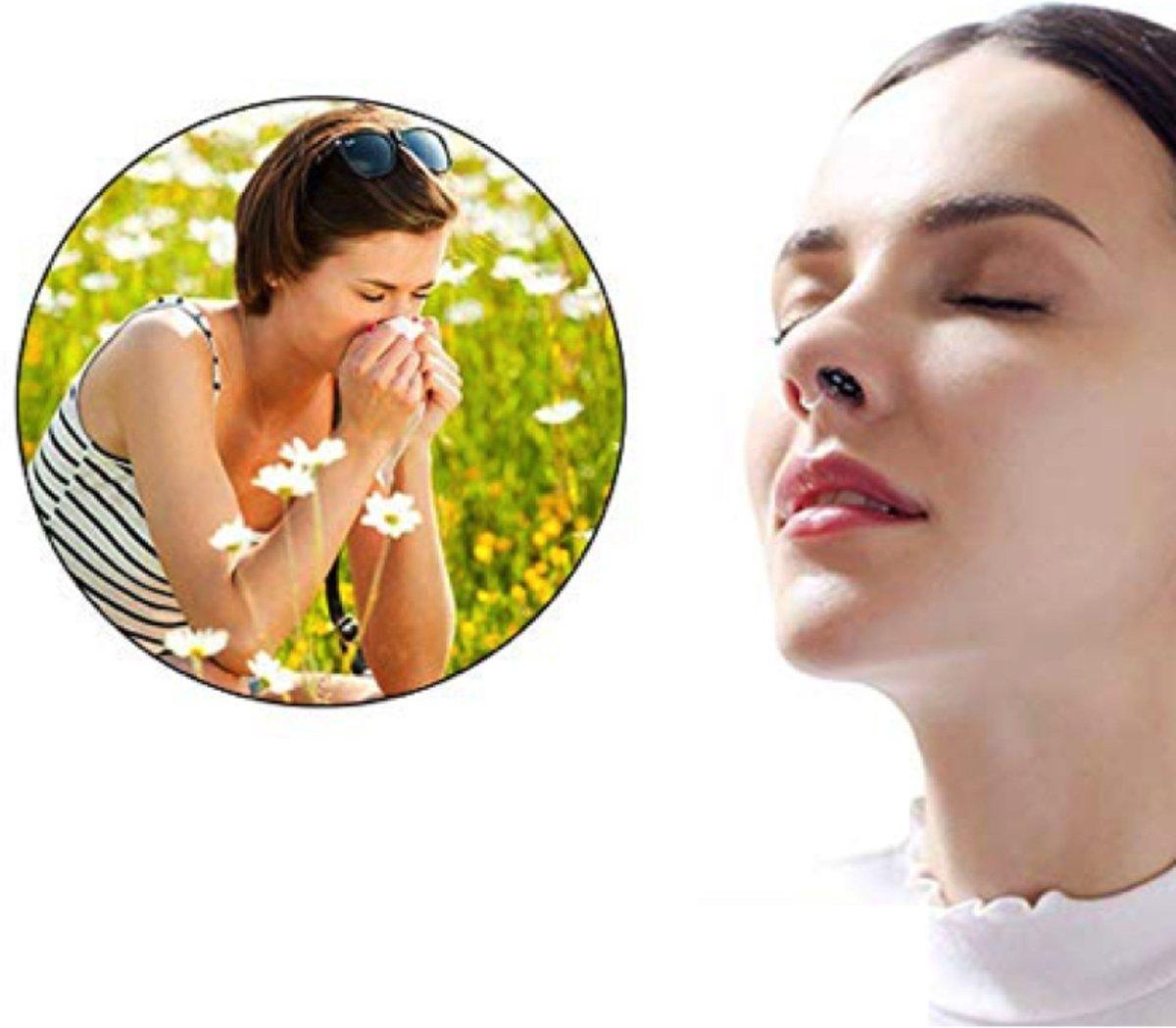 Foto van Anti Allergie S| Anti-Allergie |Neusfilters | Neus Filters | Anti-allergie apparaat | Anti Allergie Apparaat | Hooikoorts | Stofmasker | Stof masker | Adembescherming