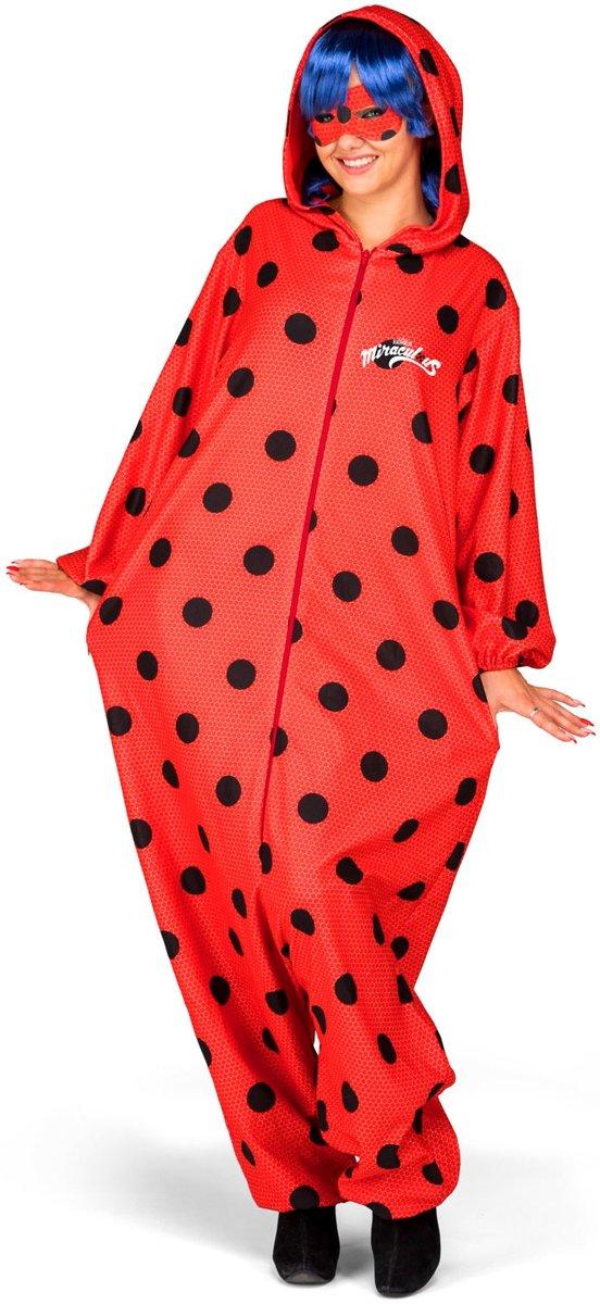 Ladybug™ kostuum met accessoires voor volwassenen - Volwassenen kostuums