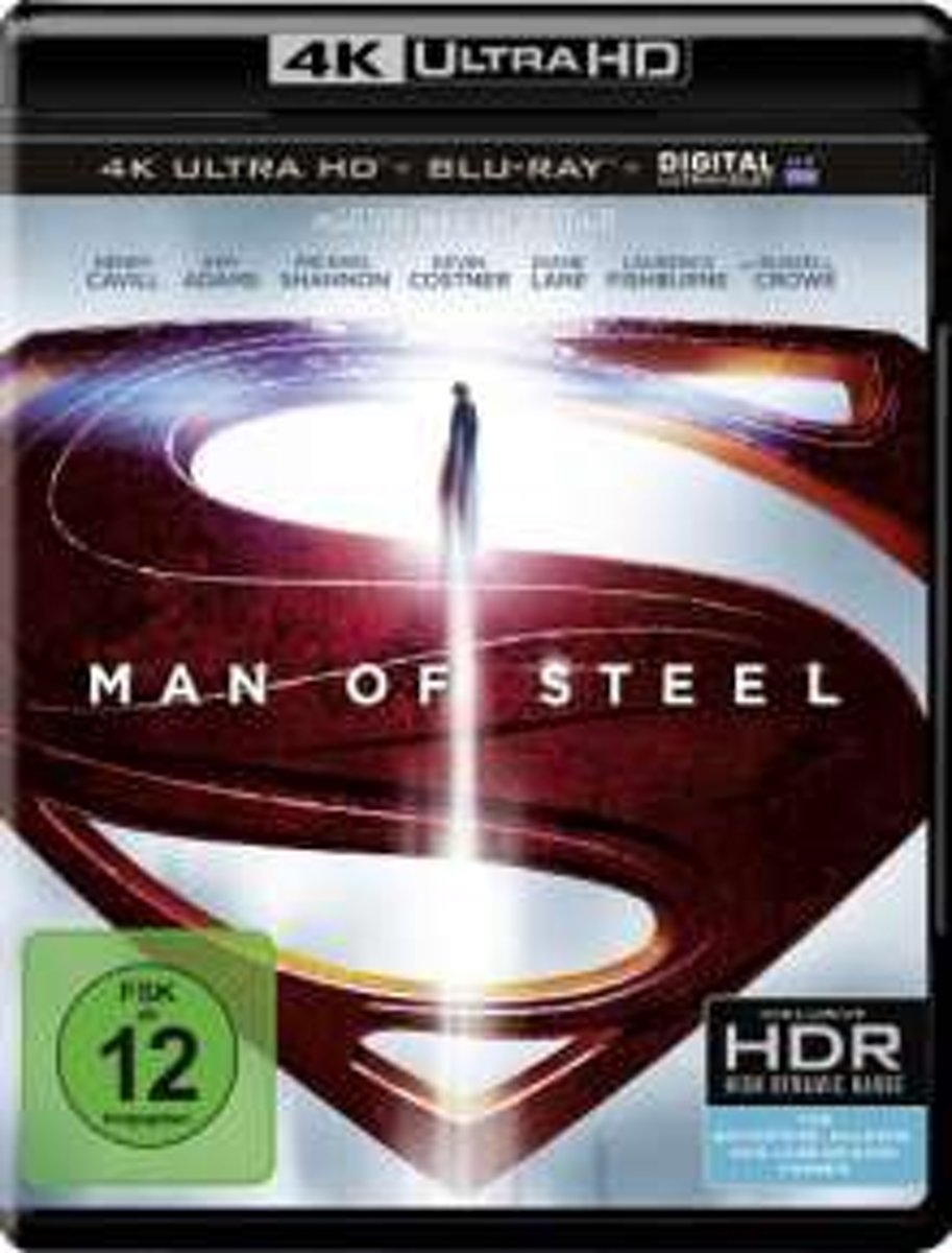 Man Of Steel (Ultra HD Blu-ray)-