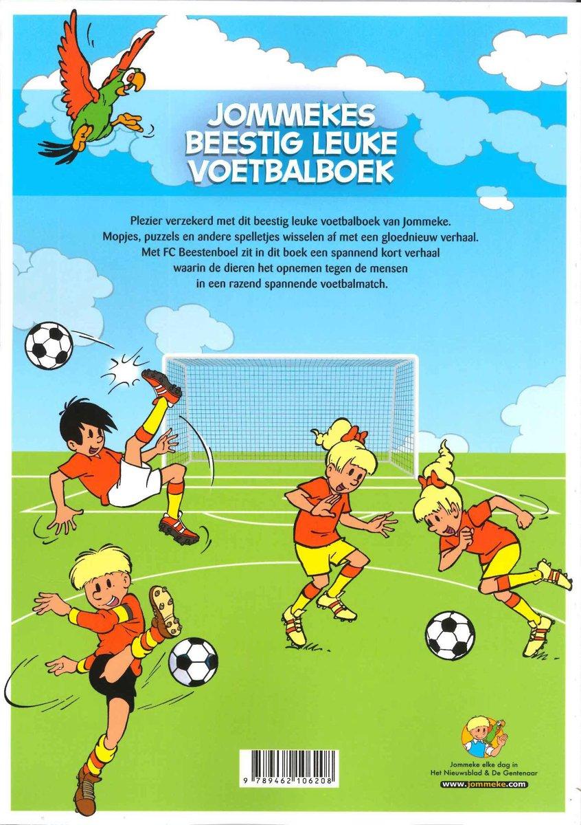 Jommeke special Sp. jommekes beestig leuke voetbalboek