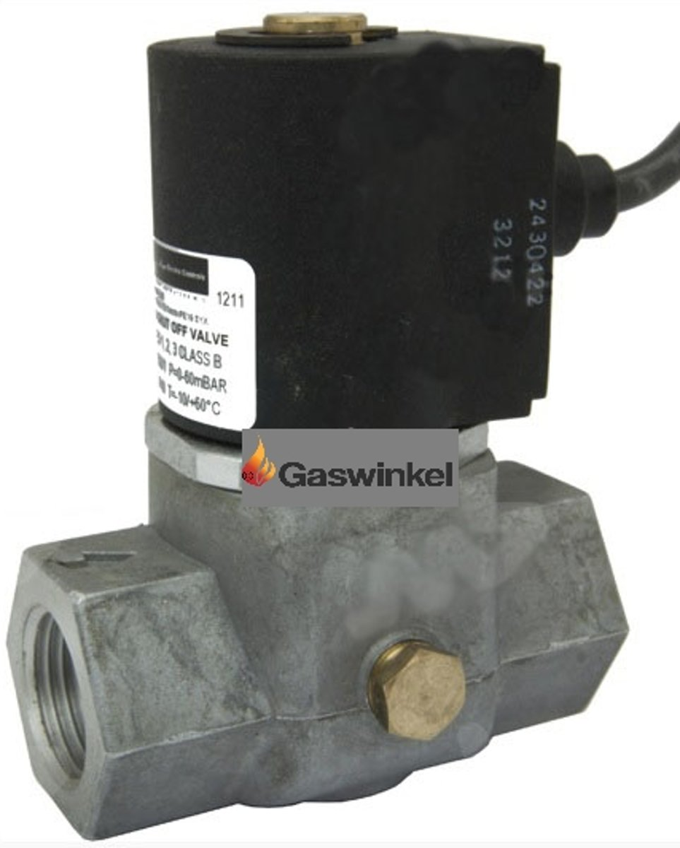 Afsluitkraan / magneet klep elektronisch 230 volt kopen
