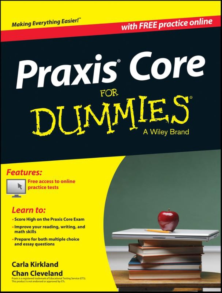 bol.com | Praxis Core For Dummies, with Online Practice Tests, Carla C.  Kirkland | 9781118532805.