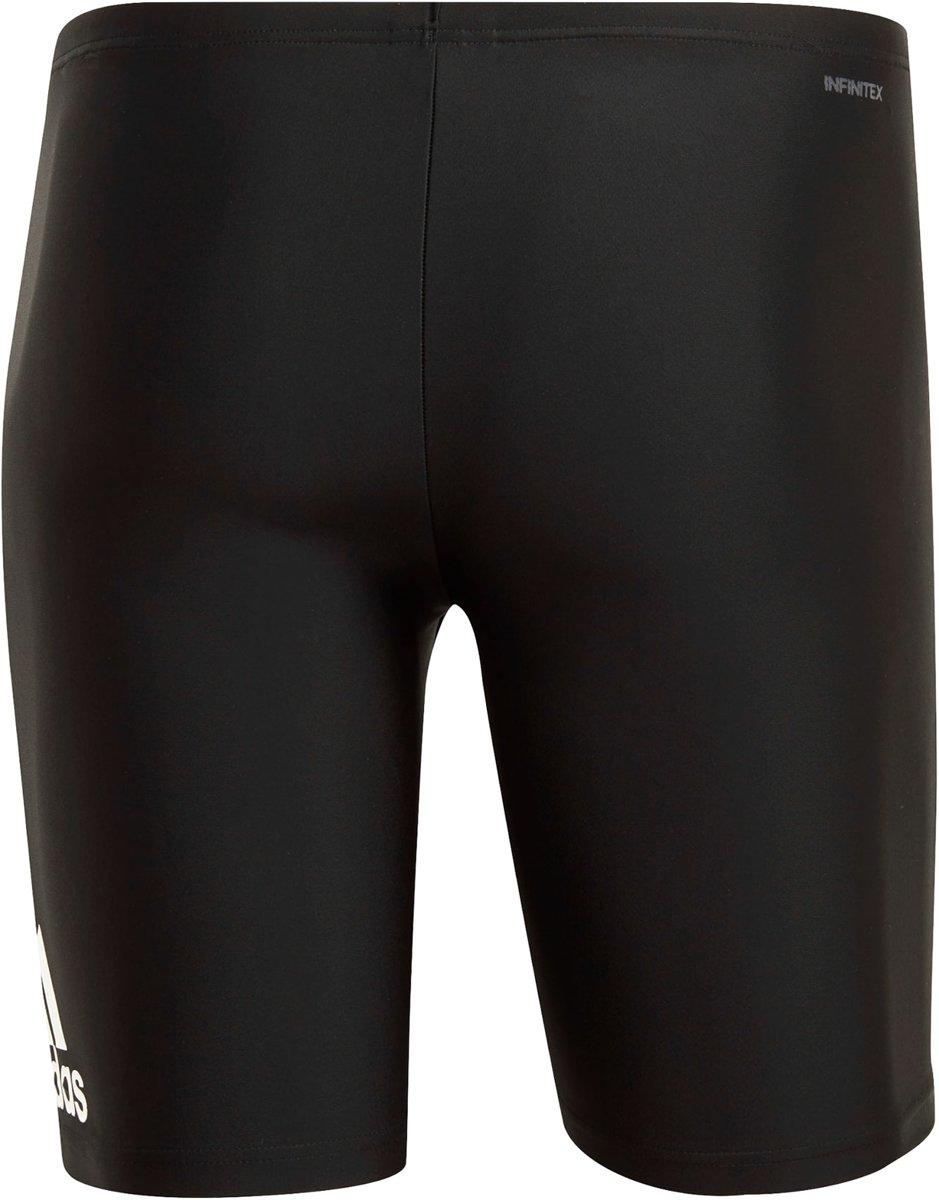 adidas Badge Fitness Jammer Sportzwembroek Maat 4 Mannen zwart wit